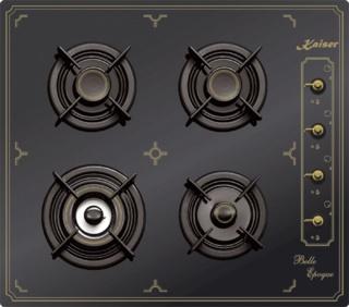 Варочные панели Kaiser с металлической поверхностью – преимущества покупки