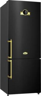 Черные холодильники Kaiser в интерьере кухни | kaiser-bt.ru