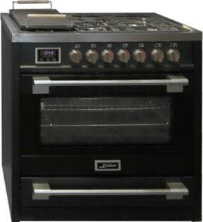 Кухонные плиты Kaiser черного цвета – газовые, электрические, комбинированные