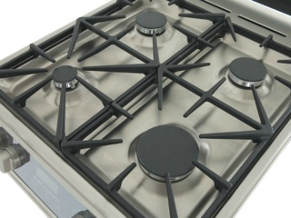 Кухонные плиты Kaiser с поверхностью из нержавеющей стали — ключевые преимущества