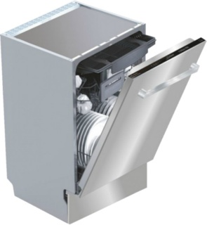 Посудомоечные машины Kaiser шириной 45 см – вместительные модели для небольшой кухни