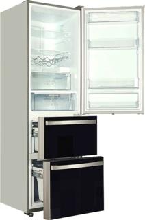 Двухкамерные холодильники от компании Kaiser