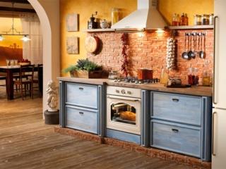 Создаем стиль кухни с бронзовой фурнитурой