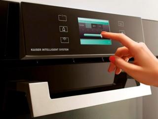 Сенсорное управление в микроволновых печах от Kaiser