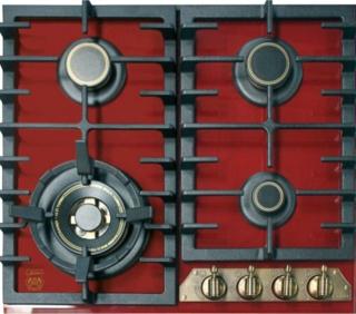 Тройная турбогорелка для быстрого нагрева в газовых варочных панелях